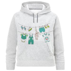 هودی دخترانه طرح لباس بچه کد F335