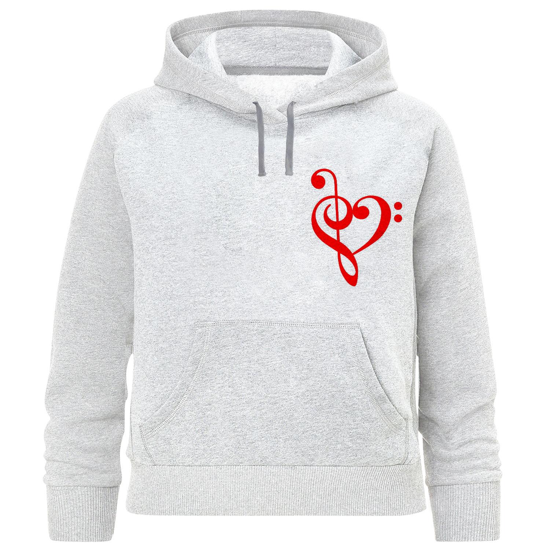 هودی دخترانه طرح قلب کد F348