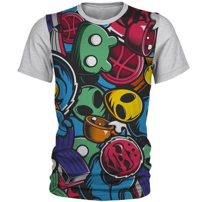 تصویر تی شرت آستین کوتاه مردانه کد AL11