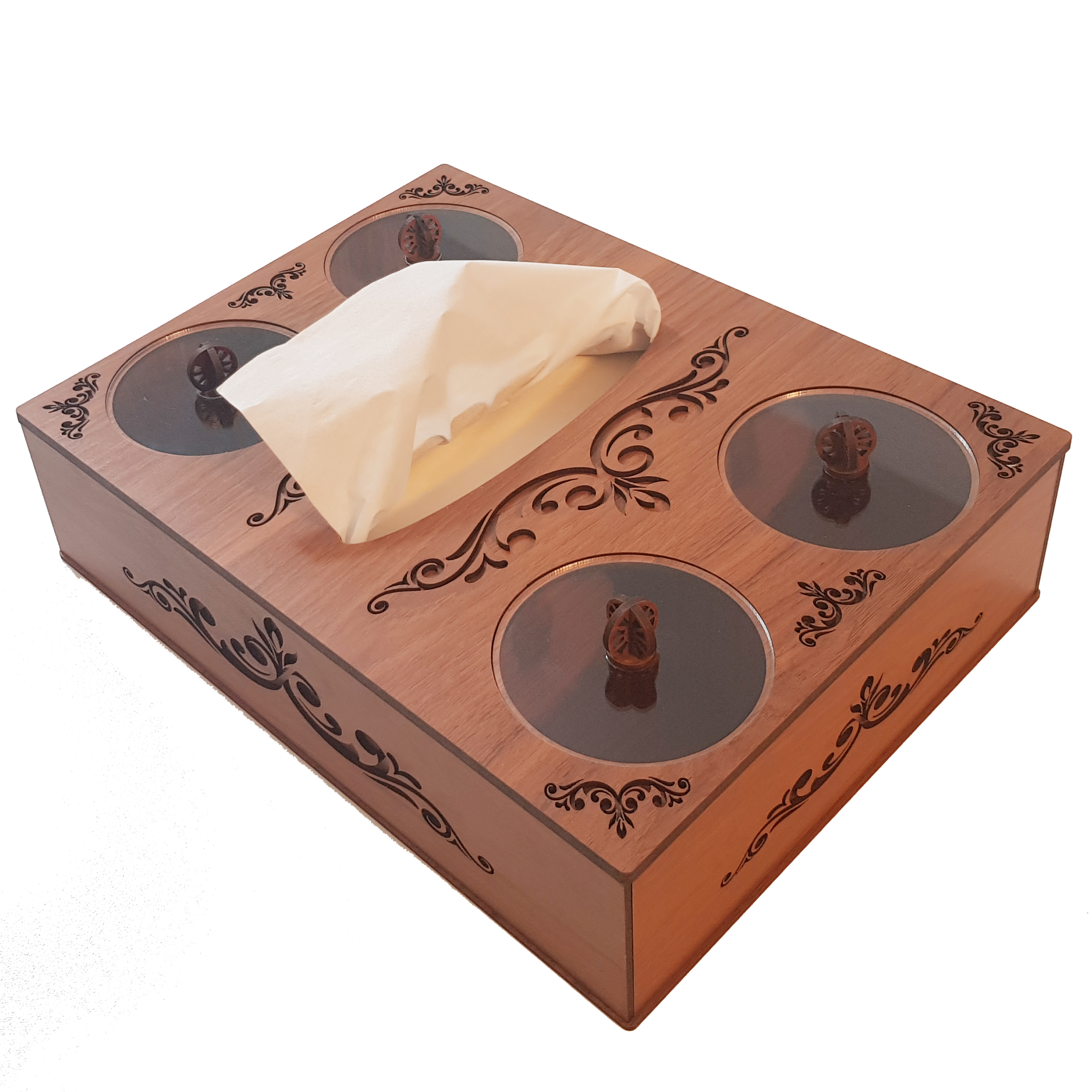 جعبه پذیرایی مدل فلورا