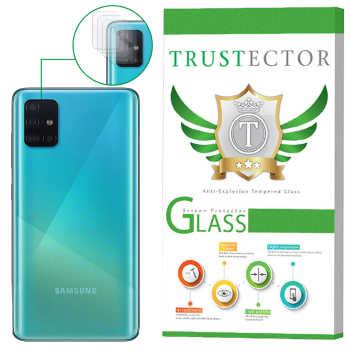 محافظ لنز دوربین تراستکتور مدل CLP مناسب برای گوشی موبایل سامسونگ Galaxy A51 بسته 5 عددی