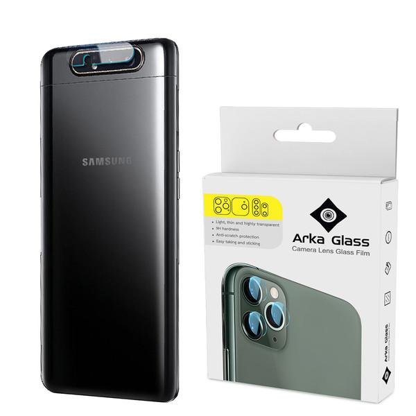 محافظ لنز دوربین آرکا گلس مدل GLA مناسب برای گوشی موبایل سامسونگ GALAXY A80