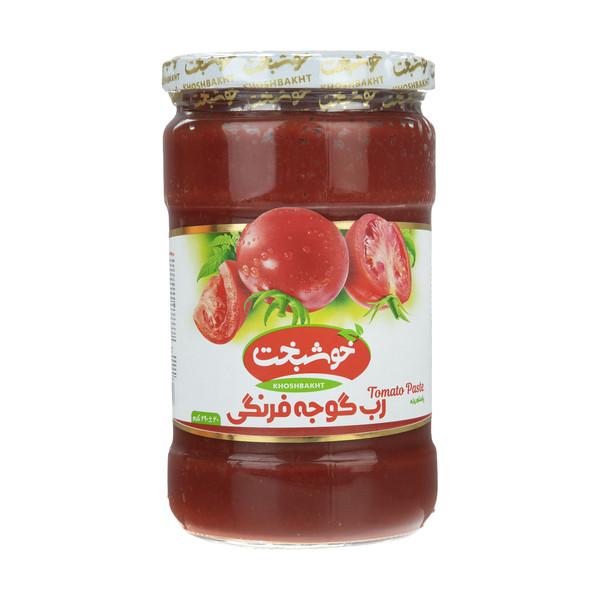 رب گوجه فرنگی خوشبخت - 690 گرم