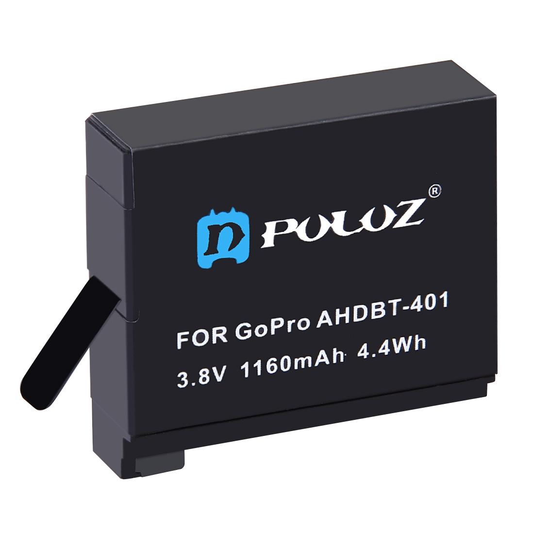 باتری لیتیومی قابل شارژ پلوز مدل PU36B مناسب برای دوربین های ورزشی گوپرو Hero4