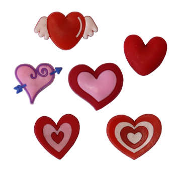 مگنت یخچال مدل love مجموعه 6 عددی