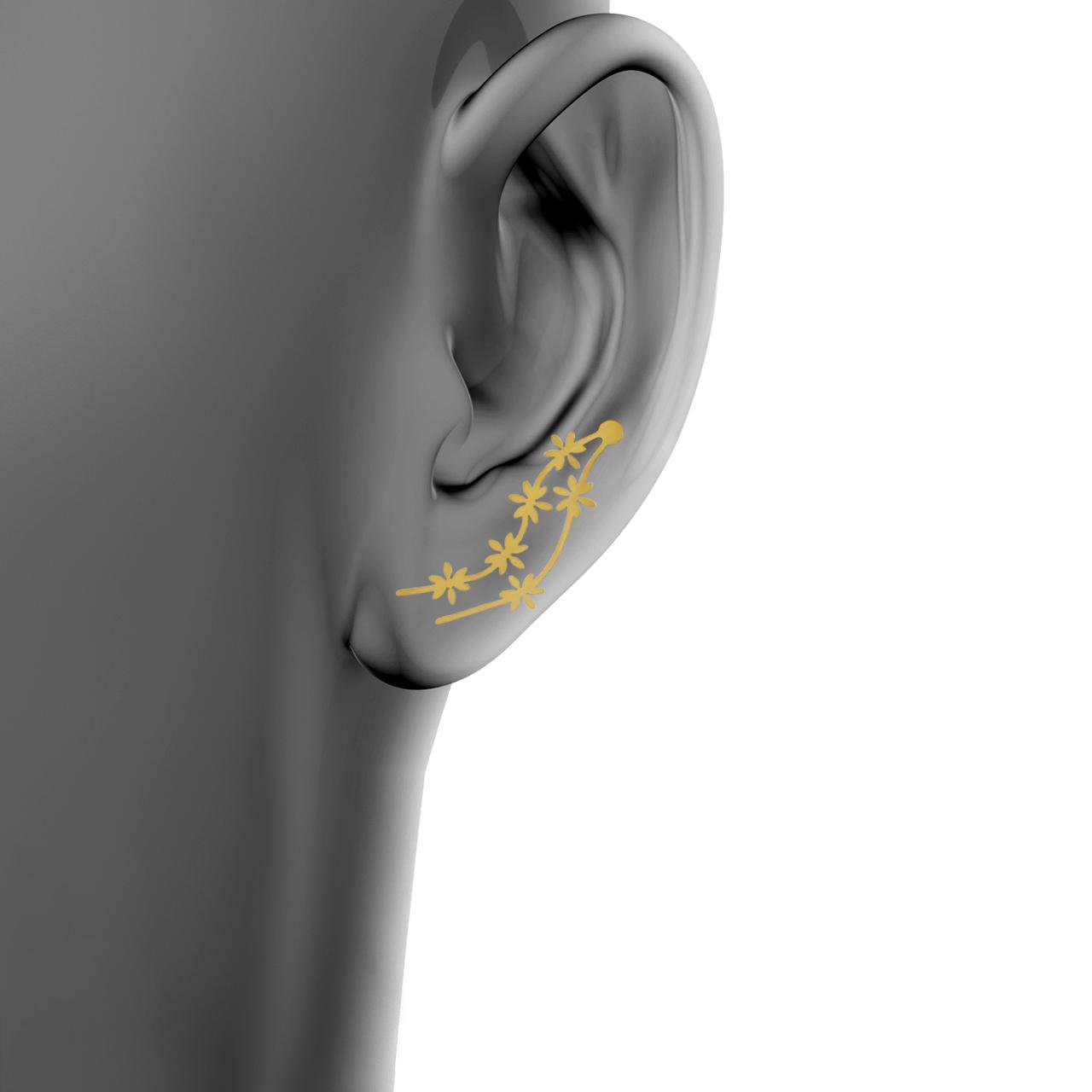 گوشواره زنانه اقلیمه کد ES417