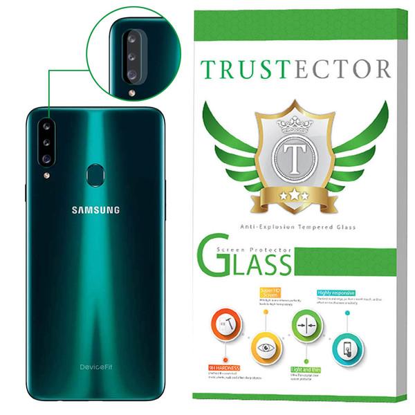 محافظ لنز دوربین تراستکتور مدل CLP مناسب برای گوشی موبایل Galaxy A20s