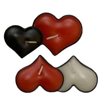 شمع وارمر طرح قلب کد VG1 بسته 2 عددی