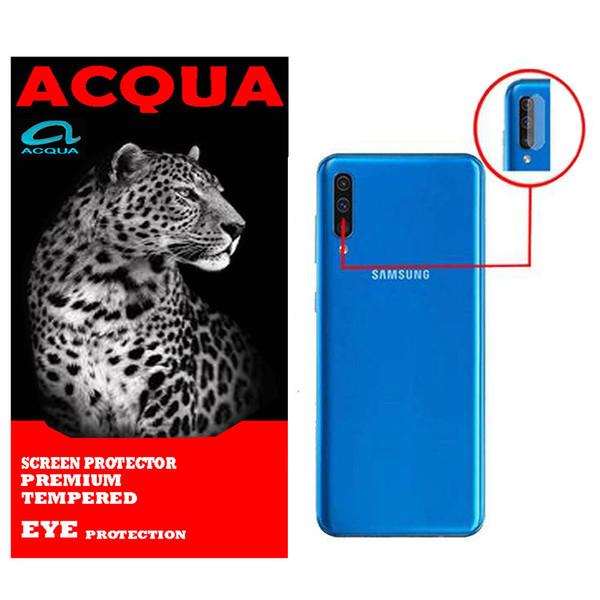 محافظ لنز دوربین آکوا مدل LN مناسب برای گوشی موبایل سامسونگ  Galaxy A50