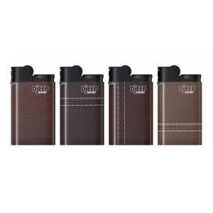 فندک دیجیپ مدل Leather Seams بسته 4 عددی