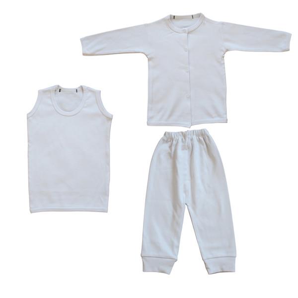 ست 3 تکه لباس نوزاد کد KT-01
