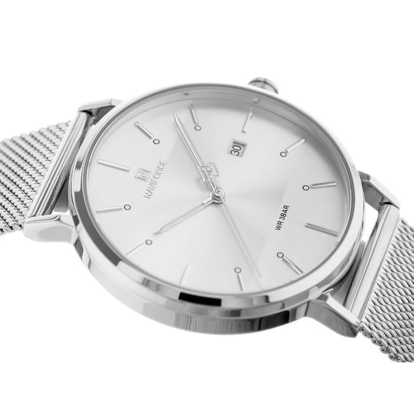 ساعت مچی عقربهای مردانه نیوی فورس کد NF3008G -S-W              خرید (⭐️⭐️⭐️)