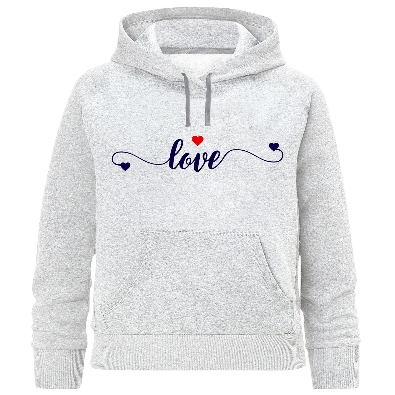 هودی دخترانه طرح love کد F374