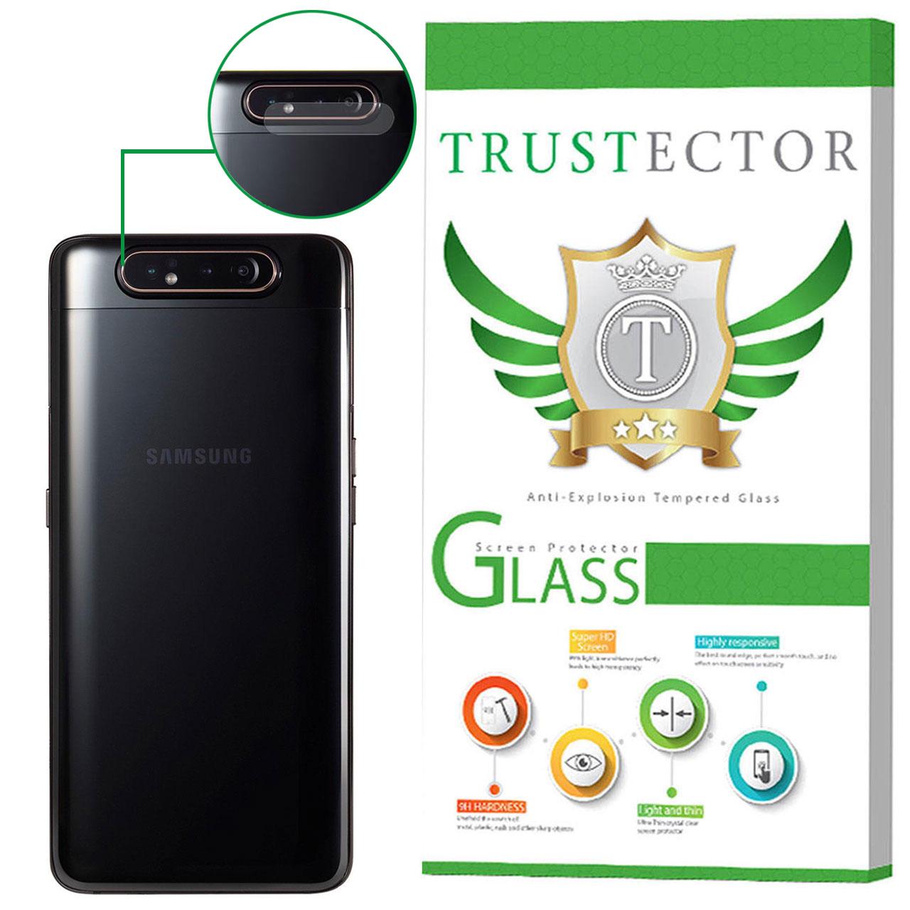 محافظ لنز دوربین تراستکتور مدل CLP مناسب برای گوشی موبایل سامسونگ Galaxy A80              ( قیمت و خرید)