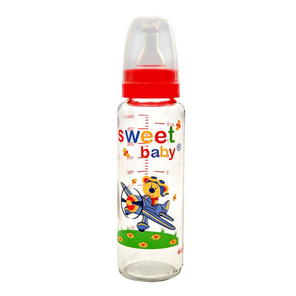 شیشه شیر سوییت بیبی مدل 790RED ظرفیت 250 میلی لیتر