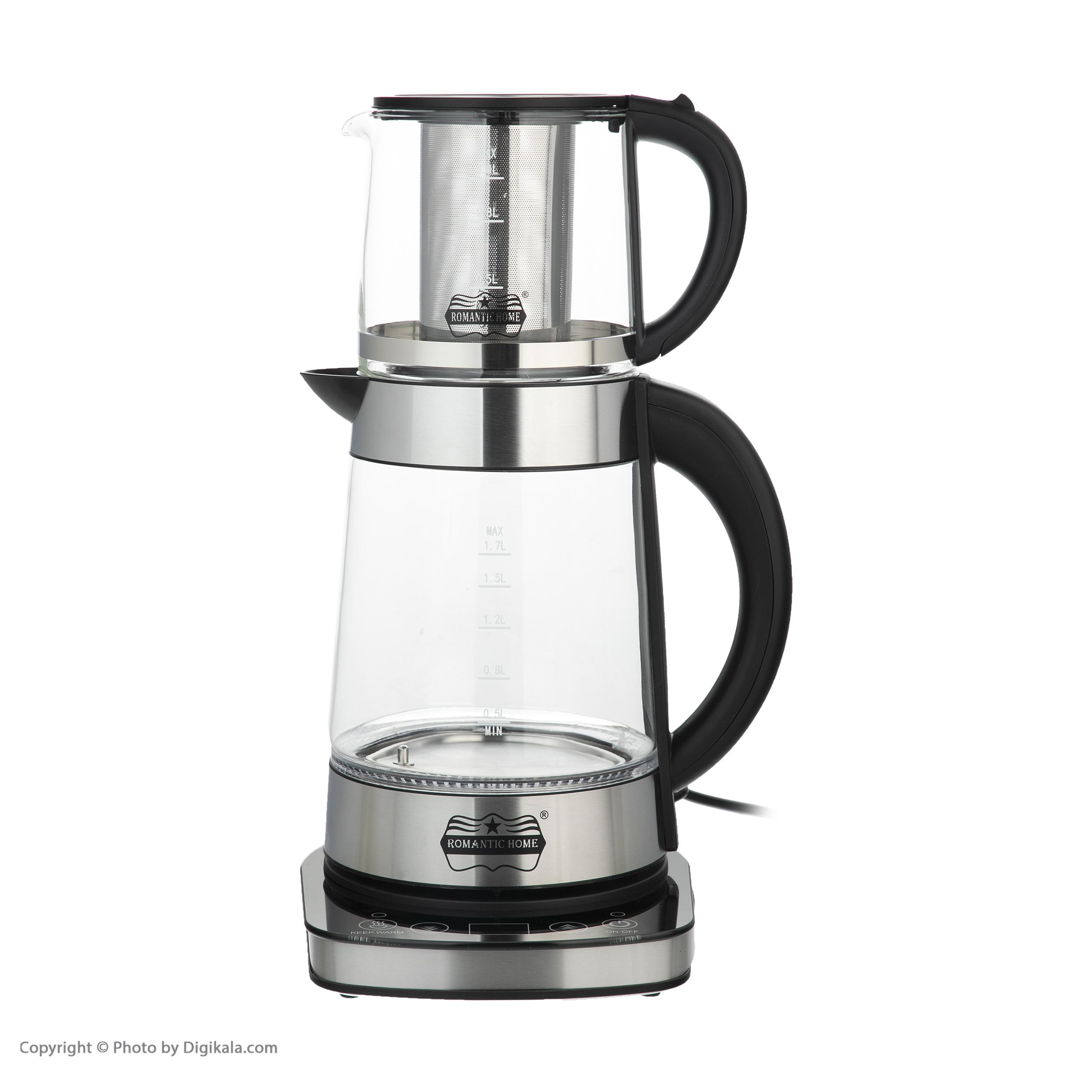 چای ساز رومانتیک هوم مدل W-K806