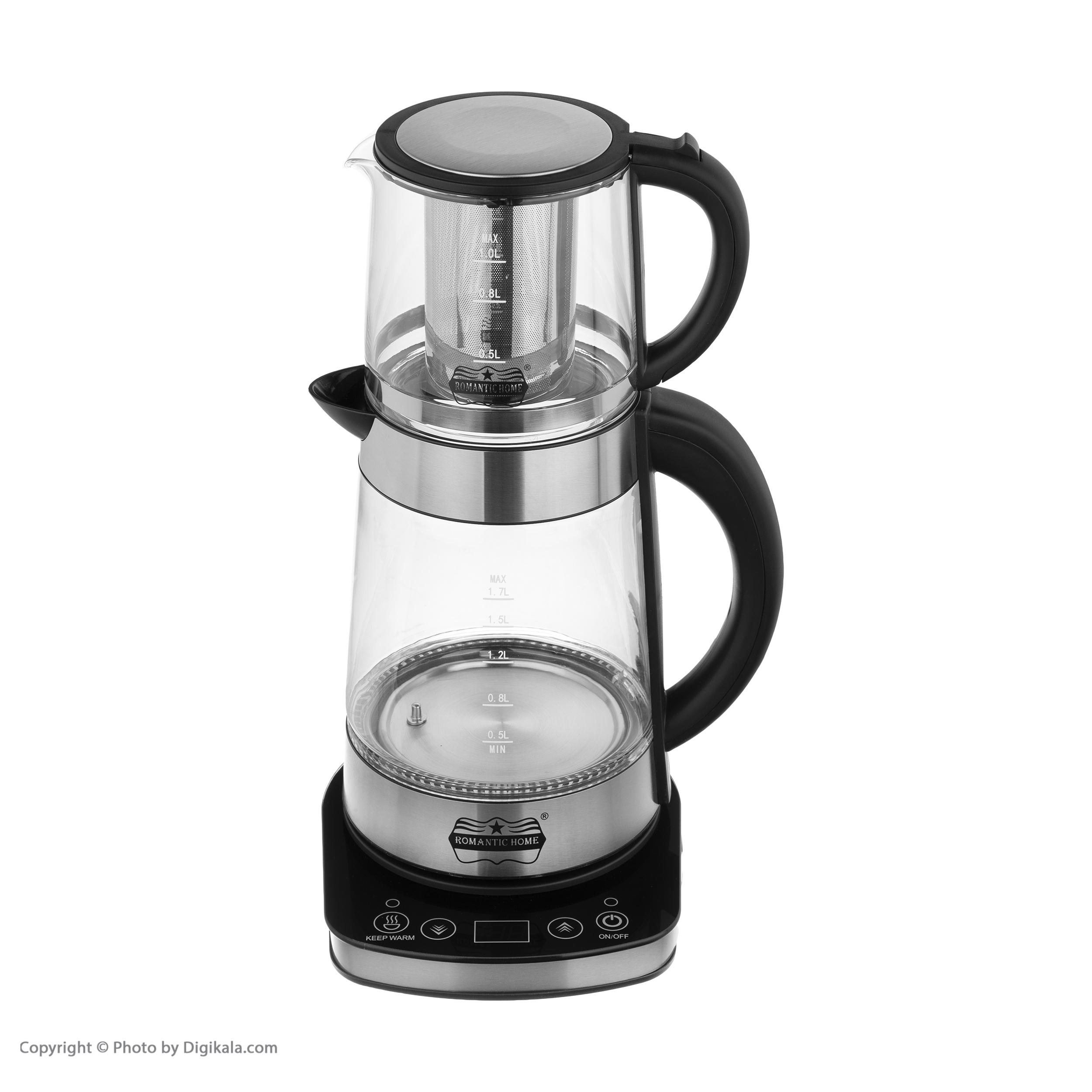چای ساز رومانتیک هوم مدل W-K806 main 1 3