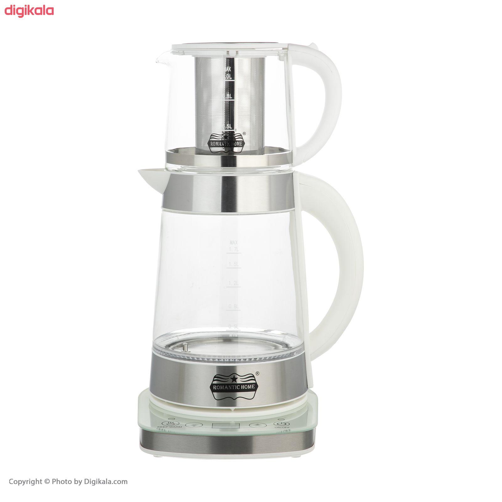 چای ساز رومانتیک هوم مدل W-K806 main 1 9