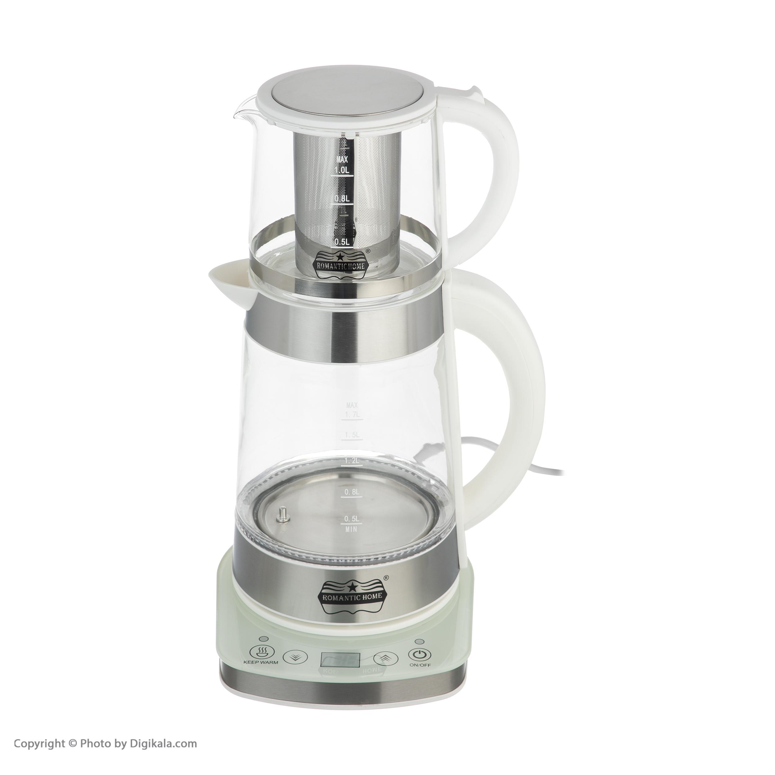 چای ساز رومانتیک هوم مدل W-K806 main 1 10