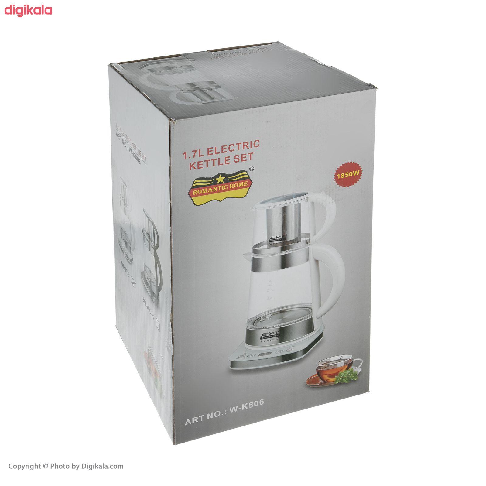 چای ساز رومانتیک هوم مدل W-K806 main 1 15