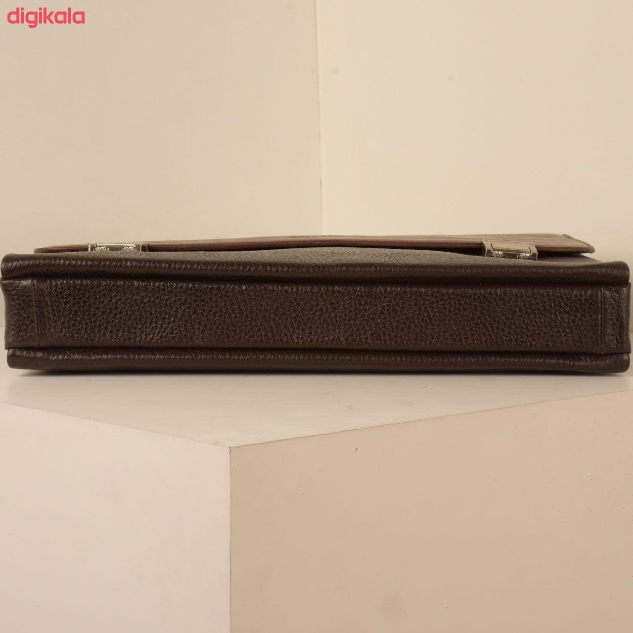 کیف اداری مردانه کهن چرم مدل L146-7 main 1 6