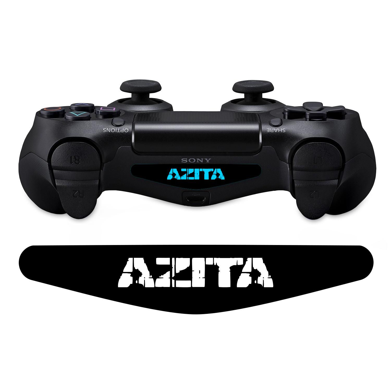 برچسب لایت بار دسته پلی استیشن 4 ونسونی طرح AZITA