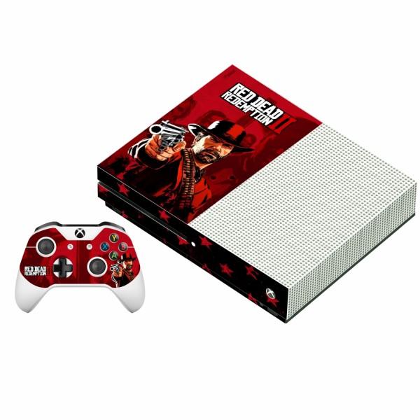 برچسب ایکس باکس وان اس پلی اینفینی مدل Red Dead Redemption 2 02 به همراه برچسب دسته