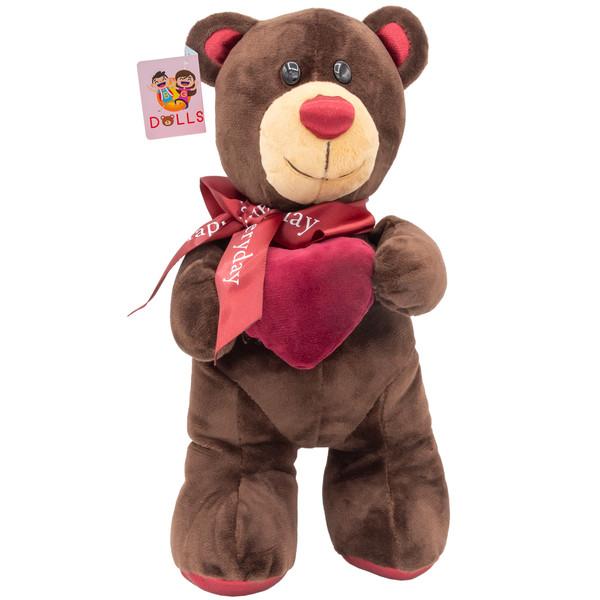 عروسک بی جی دالز طرح آقا خرس مهربان ارتفاع 24 سانتی متر
