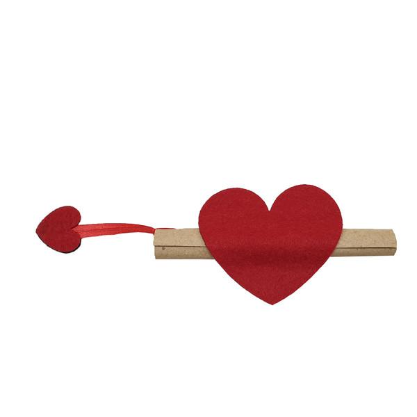 کارت دعوت مدل قلب کد GL1