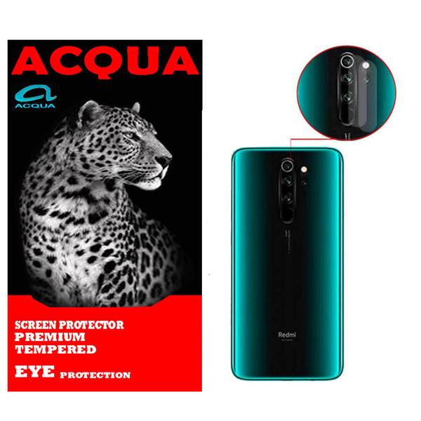 محافظ لنز دوربین آکوا مدل LN مناسب برای گوشی موبایل شیائومی Redmi NOTE 8 بسته 2 عددی