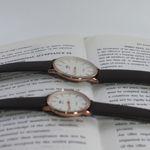 ست ساعت مچی عقربه ای زنانه و مردانه کد zcc-gh