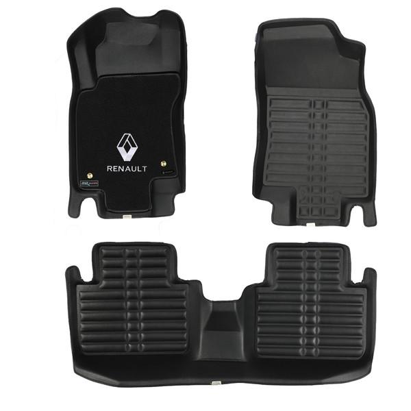 کفپوش سه بعدی خودرو تری دی مکس اچ اف کی مدل HS522255 مناسب برای رنو کولئوس
