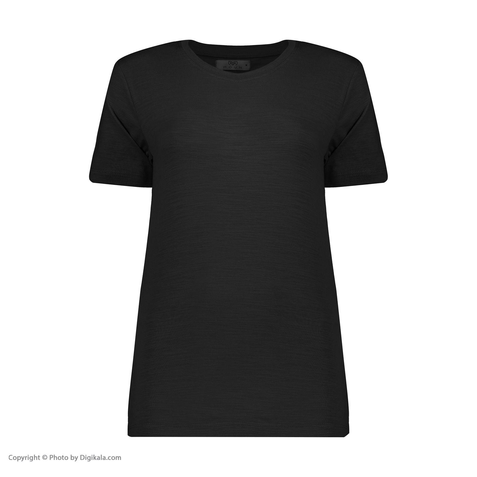 تصویر تی شرت زنانه مون مدل 163113999