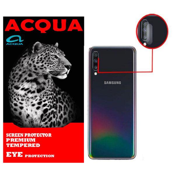 محافظ لنز دوربین آکوا مدل LN مناسب برای گوشی موبایل سامسونگ  Galaxy A70 بسته 2 عددی