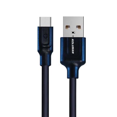 کابل تبدیل USB به microUSB کلومن مدل kd-35 طول 2 متر