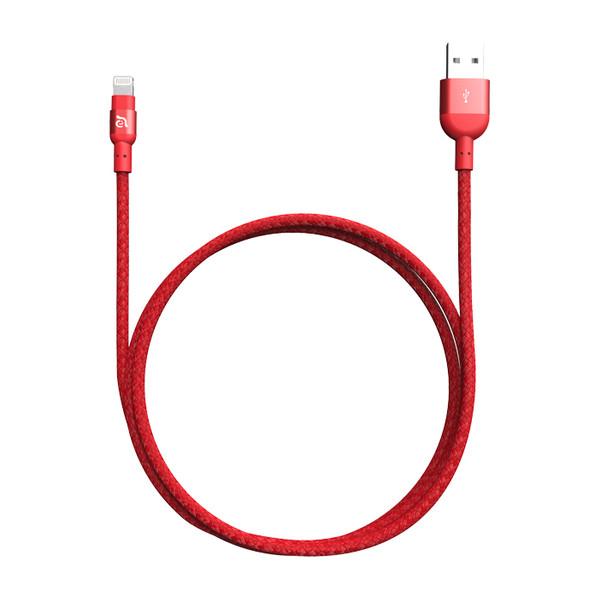 کابل تبدیل USB به لایتنینگ آدام المنتس مدل PeAk II 200B طول 2 متر