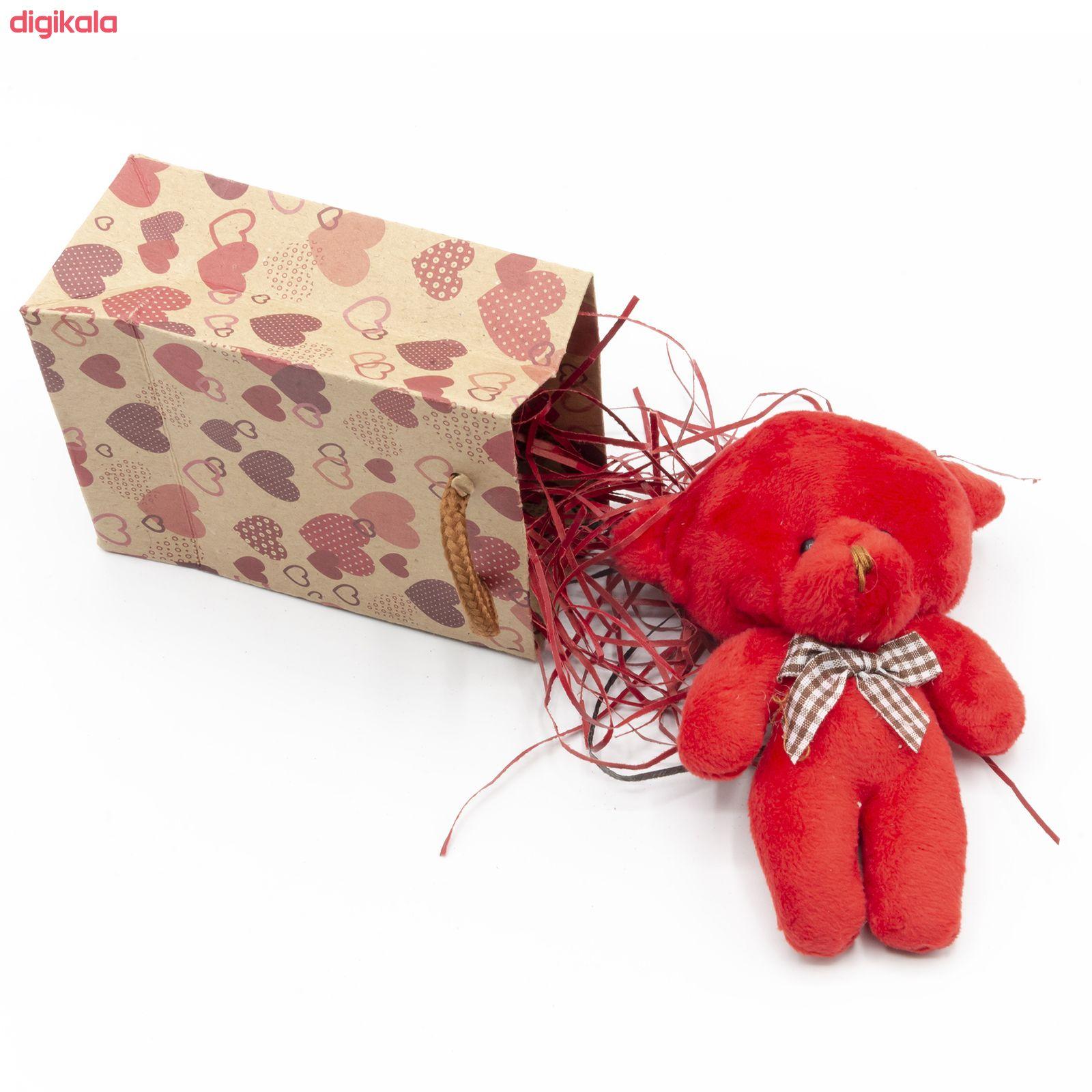 ست هدیه عروسک طرح خرس کد BT11477