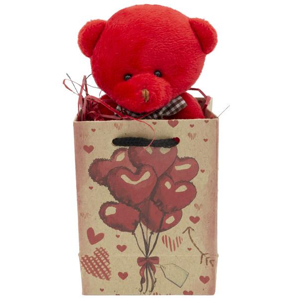 ست هدیه عروسک طرح خرس کد BT11478