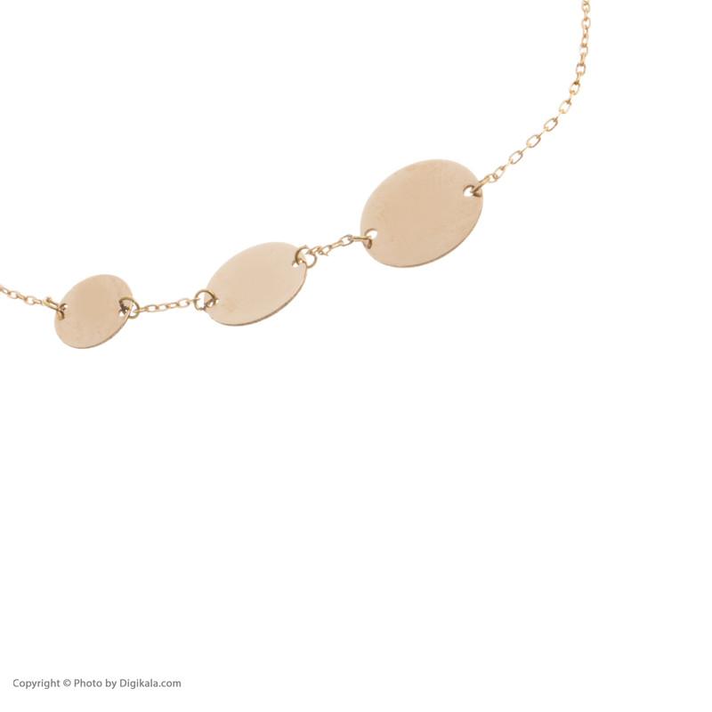 دستبند طلا 18 عیار زنانه نیوانی مدل DA350