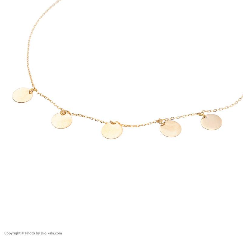 پابند طلا 18 عیار زنانه نیوانی مدل PA003