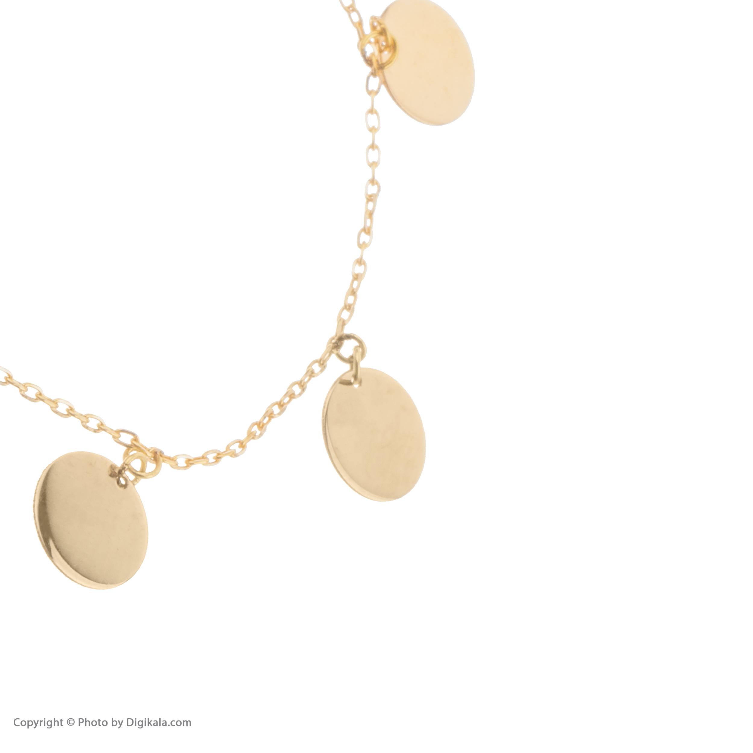 دستبند طلا 18 عیار زنانه نیوانی مدل DA352