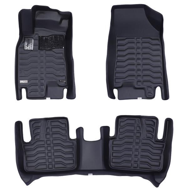 کفپوش سه بعدی خودرو تری دی مکس اچ اف کی مدل HS25212 مناسب برای رنو کپچر
