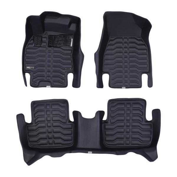 کفپوش سه بعدی خودرو تری دی مکس اچ اف کی مدل HS110155 مناسب برای رنو مگان