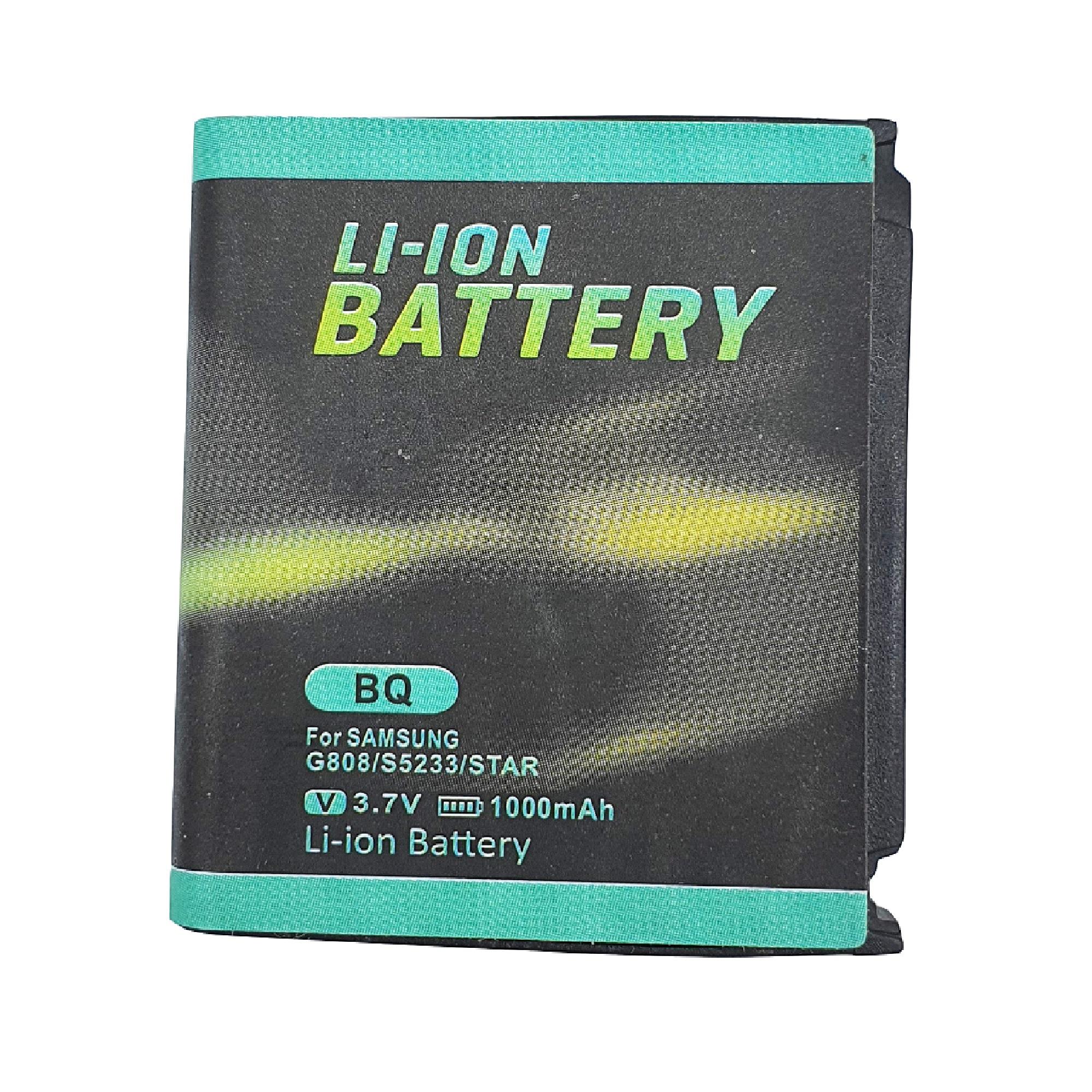 باتری موبایل مدل BQ ظرفیت 1000 میلی آمپر ساعت مناسب برای گوشی موبایل سامسونگ G808