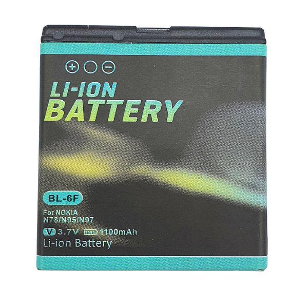 باتری موبایل مدل BL-6F ظرفیت 1100 میلی آمپر ساعت مناسب برای گوشی موبایل نوکیا N78