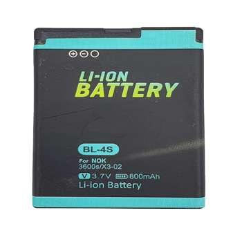 باتری موبایل مدل 3600s ظرفیت 800 میلی آمپر ساعت مناسب برای گوشی موبایل نوکیا X3.02