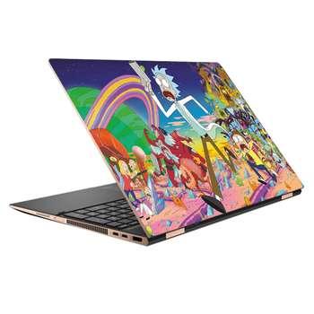 استیکر لپ تاپ طرح Rick & Morty کد 14 مناسب برای لپ تاپ 15.6 اینچ