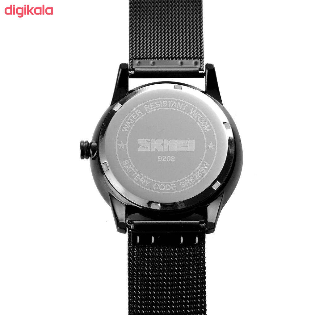 ساعت مچی عقربه ای مردانه اسکمی مدل 9208R