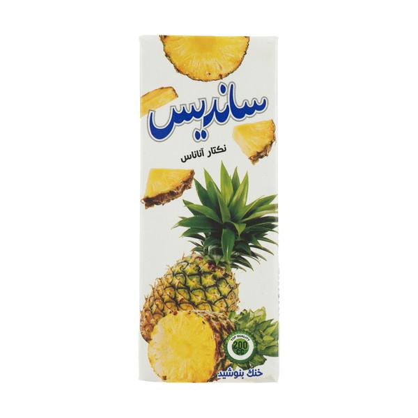 آبمیوه ساندیس با طعم آناناس - 200 میلی لیتر