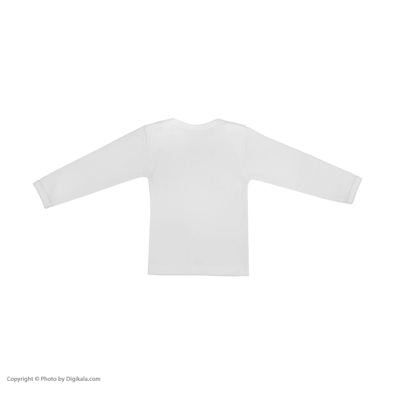 تی شرت نوزادی سون پون مدل 1391213-01 main 1 2
